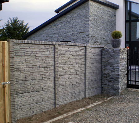 Double Sided Concrete Walling