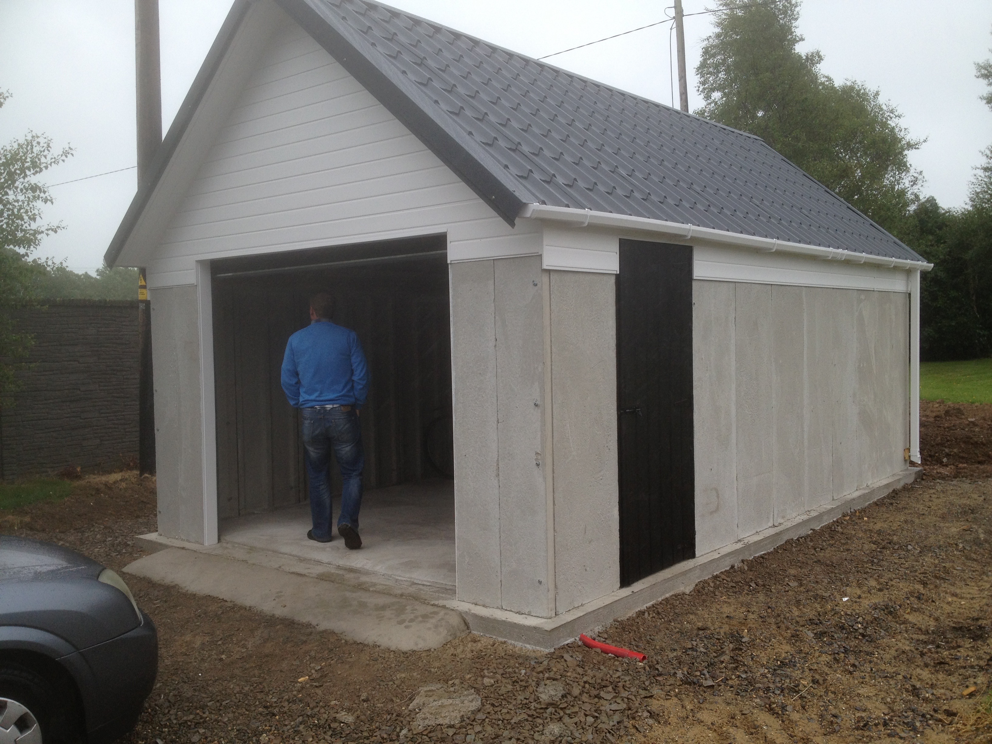 Concrete Garages Ireland Dublin Wicklow Wexford Sheds