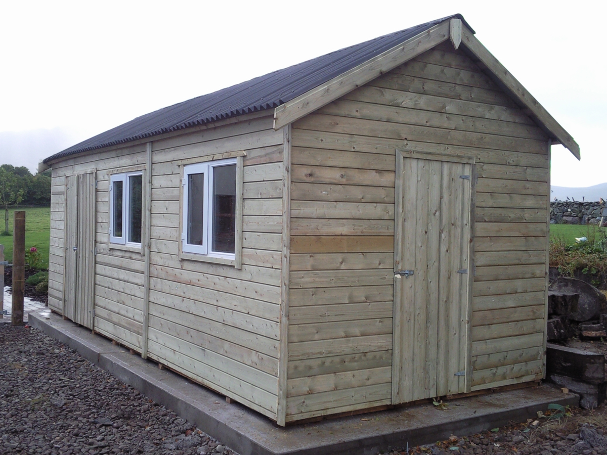 Custom Sheds Ireland Dublin Wicklow Wexford Sheds