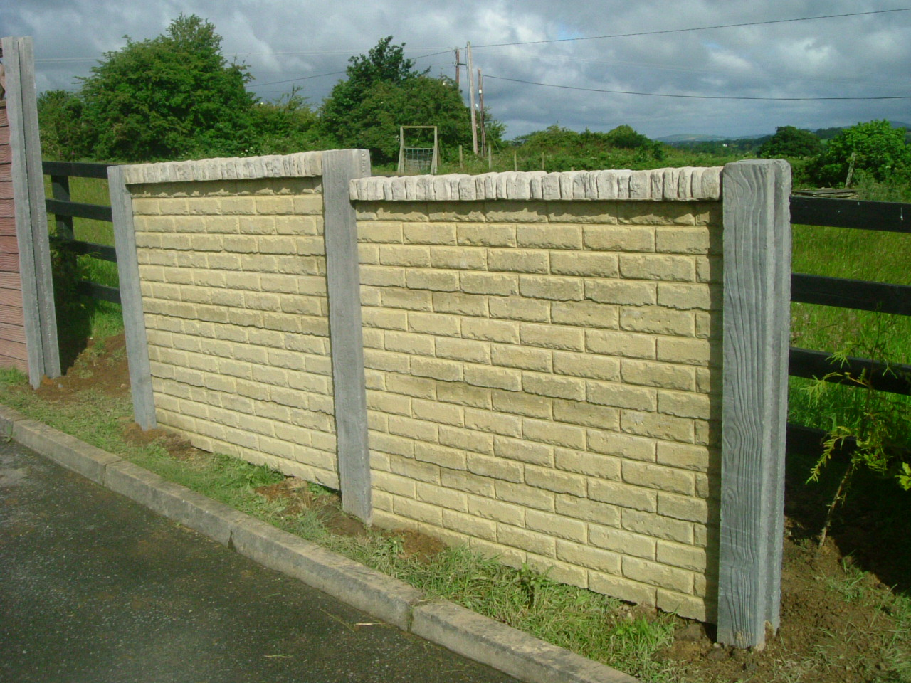 Double Sided Concrete Walling Ireland | Dublin Wicklow Wexford Sheds ...