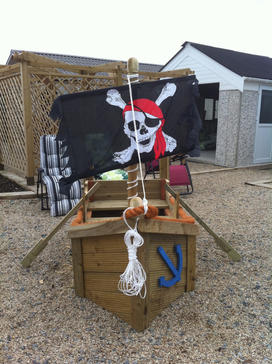Pirate Ship Playpen Ireland Fencing And Garages Wexford