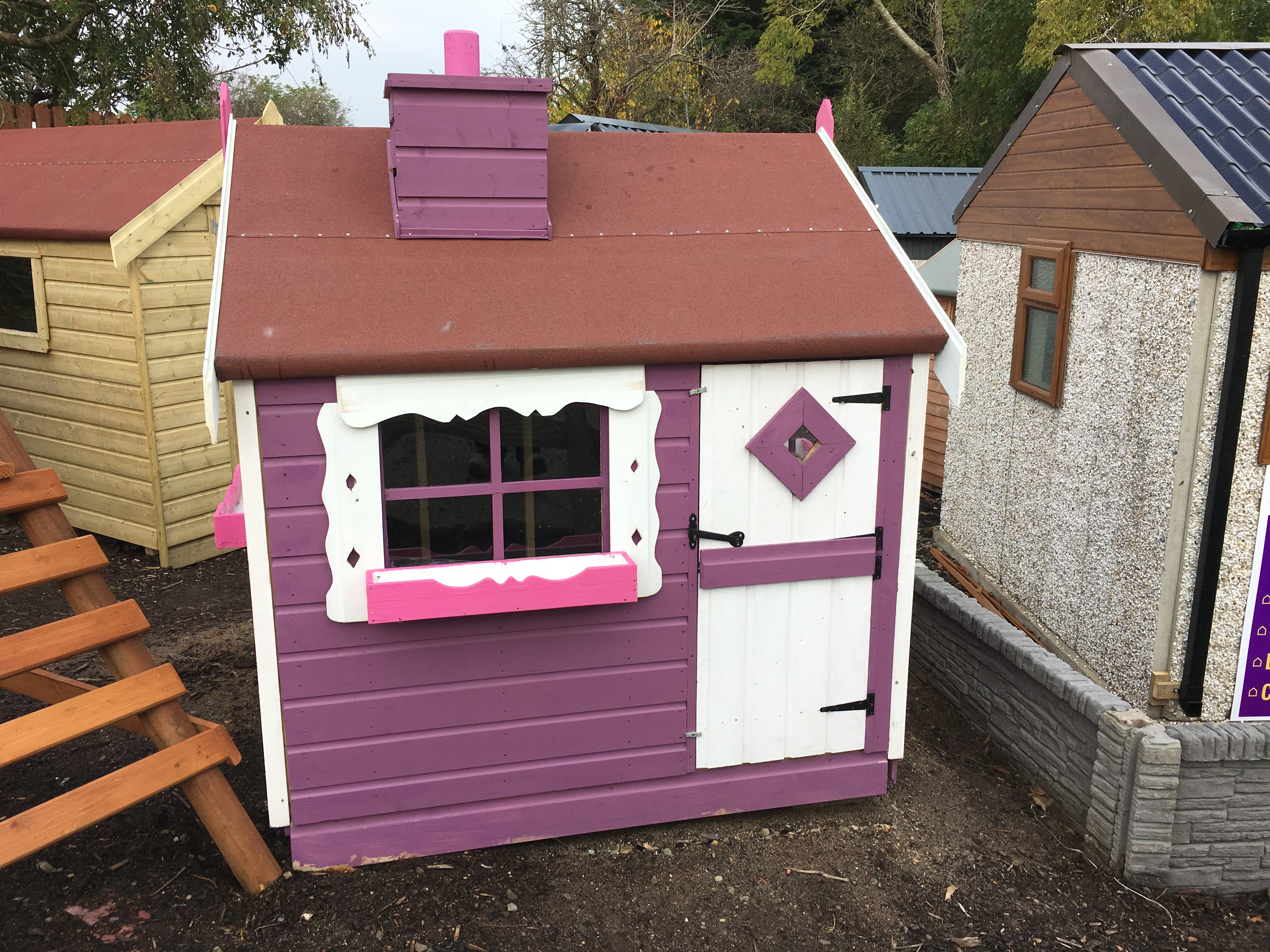Playhouses Ireland Dublin Wicklow Wexford Sheds Fencing