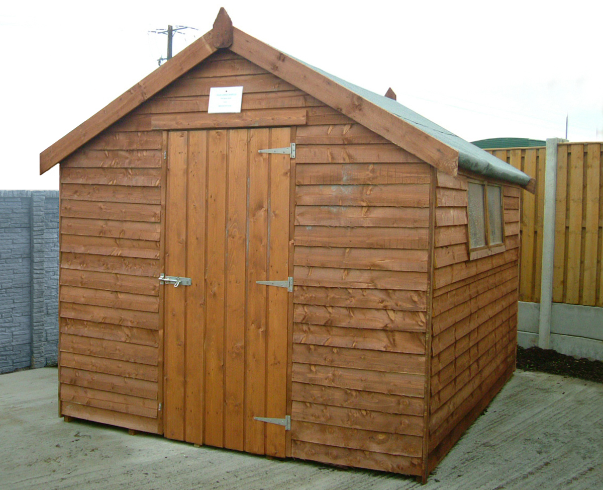 Garden sheds ireland dublin wicklow wexford sheds for Garden shed garage