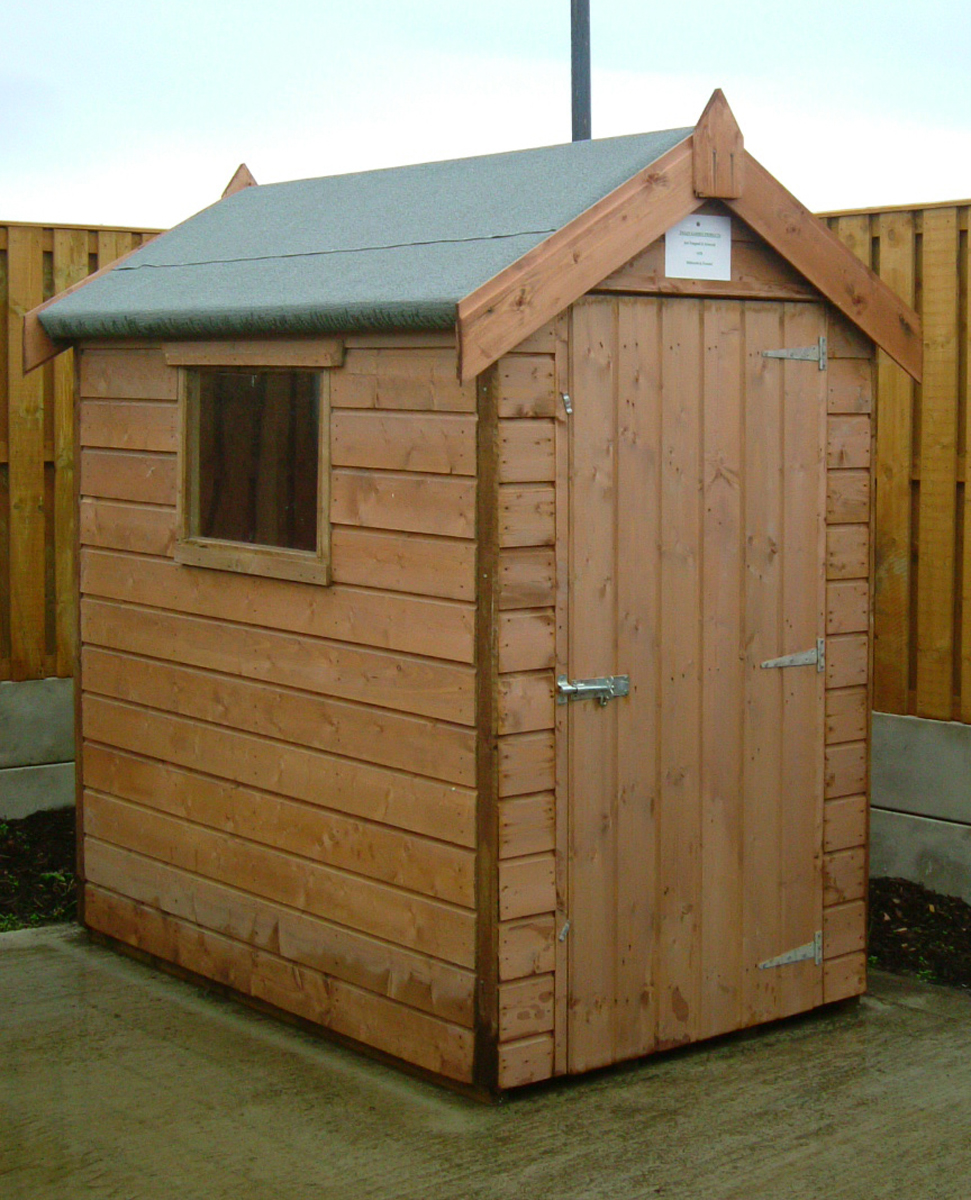 Luxury garden shed designs compact sheds for work and play for Garden shed 6x4 sale