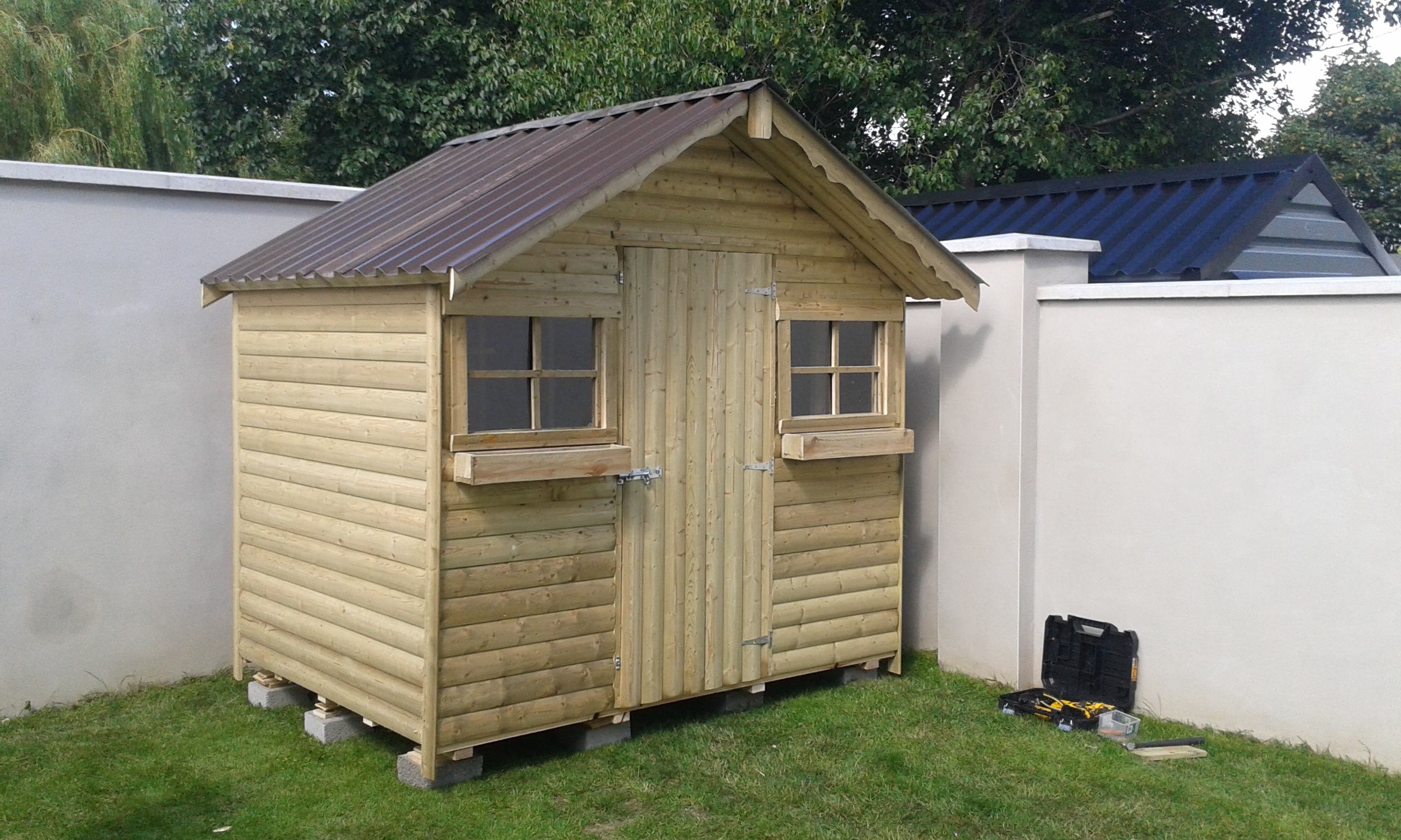 Build shed learn steel sheds westmeath for Garden shed kilkenny