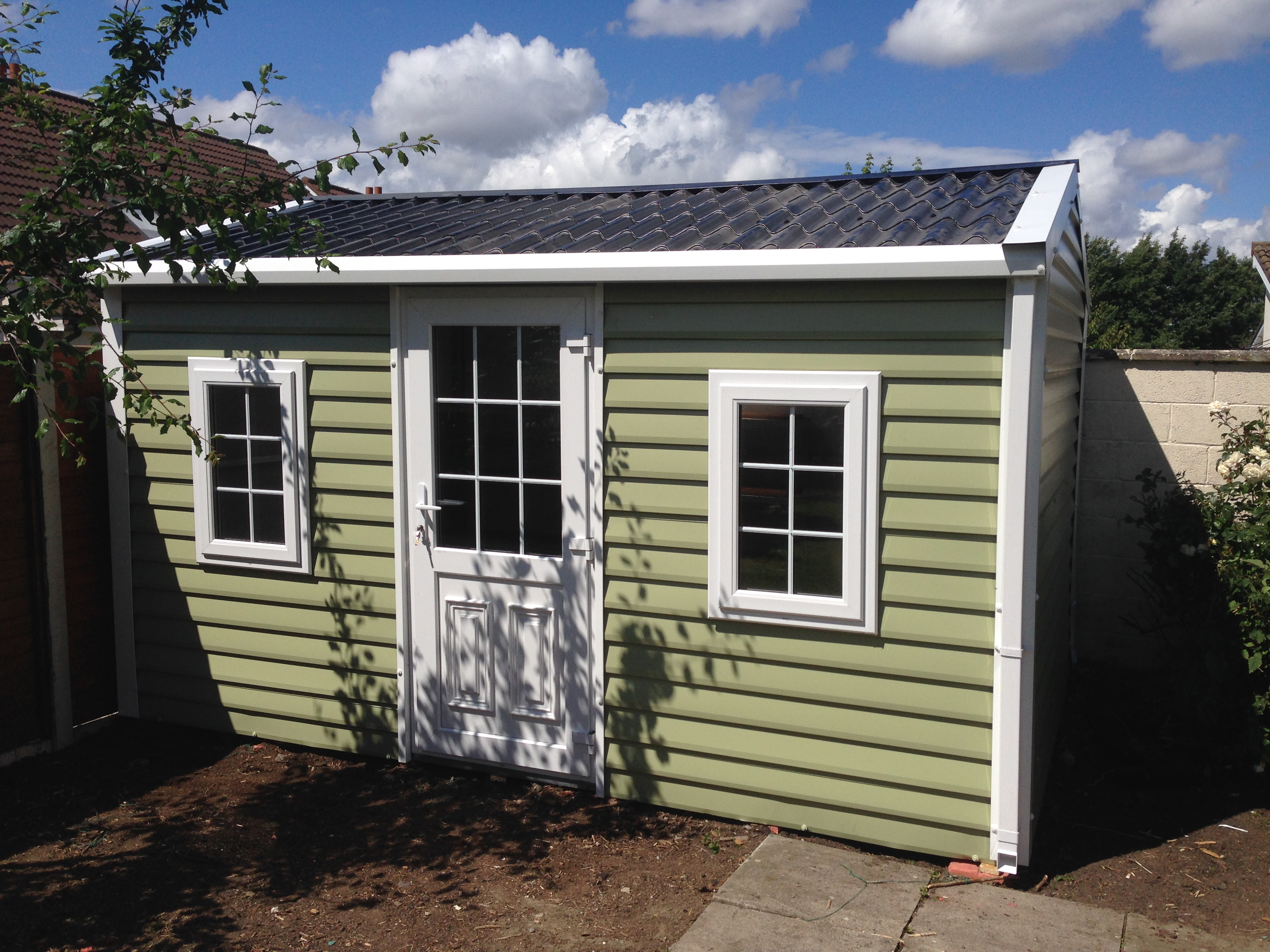Steel Sheds Ireland Dublin Wicklow Wexford Sheds Fencing