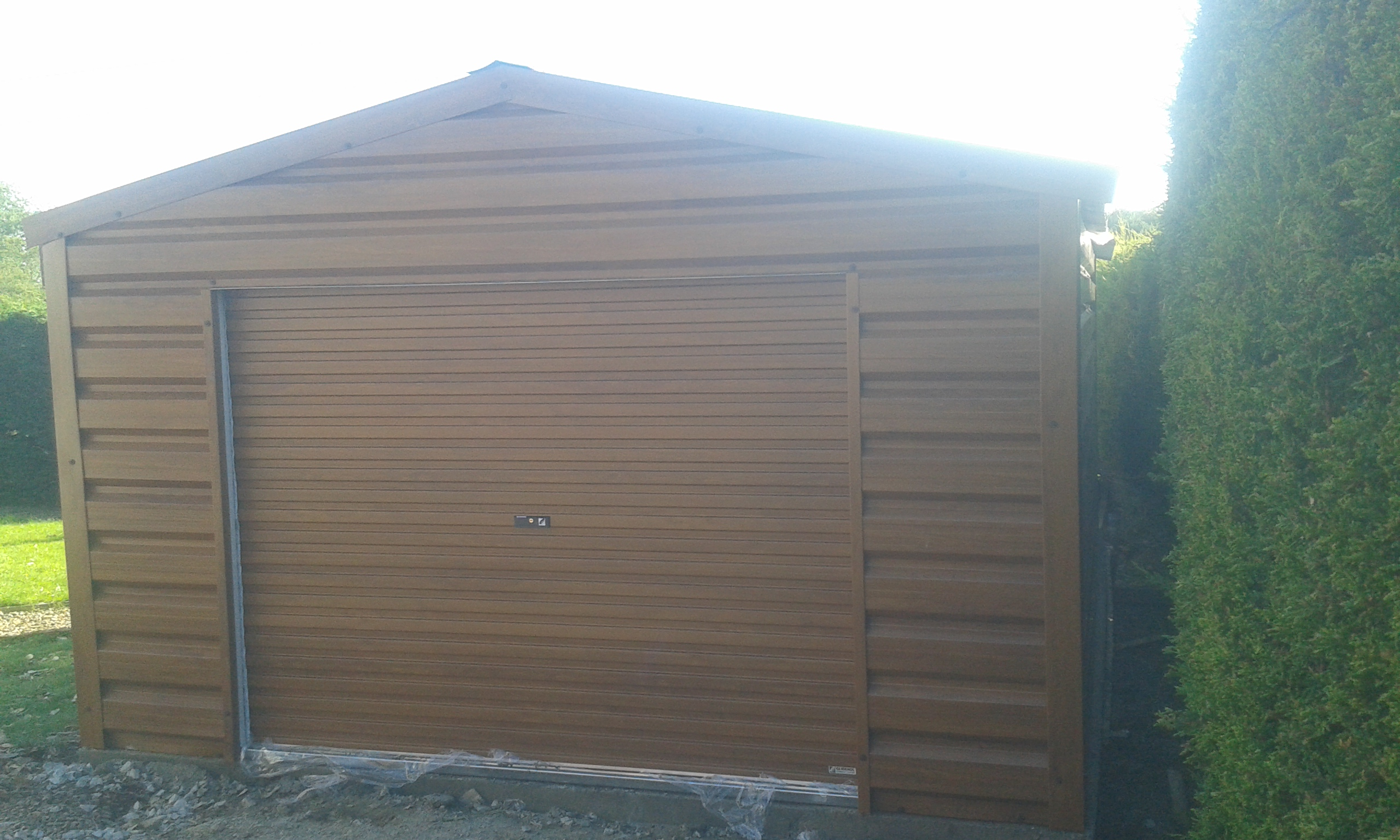 titan agricultural garage steel prefabricated building buildings types structures metal