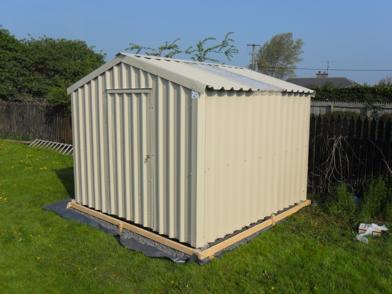 Steel sheds ireland dublin wicklow wexford sheds fencing for Insulated garden buildings