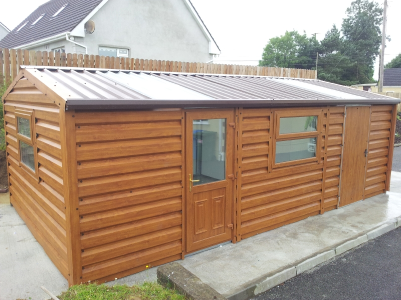 Steel sheds wexford ireland for Insulated garden buildings