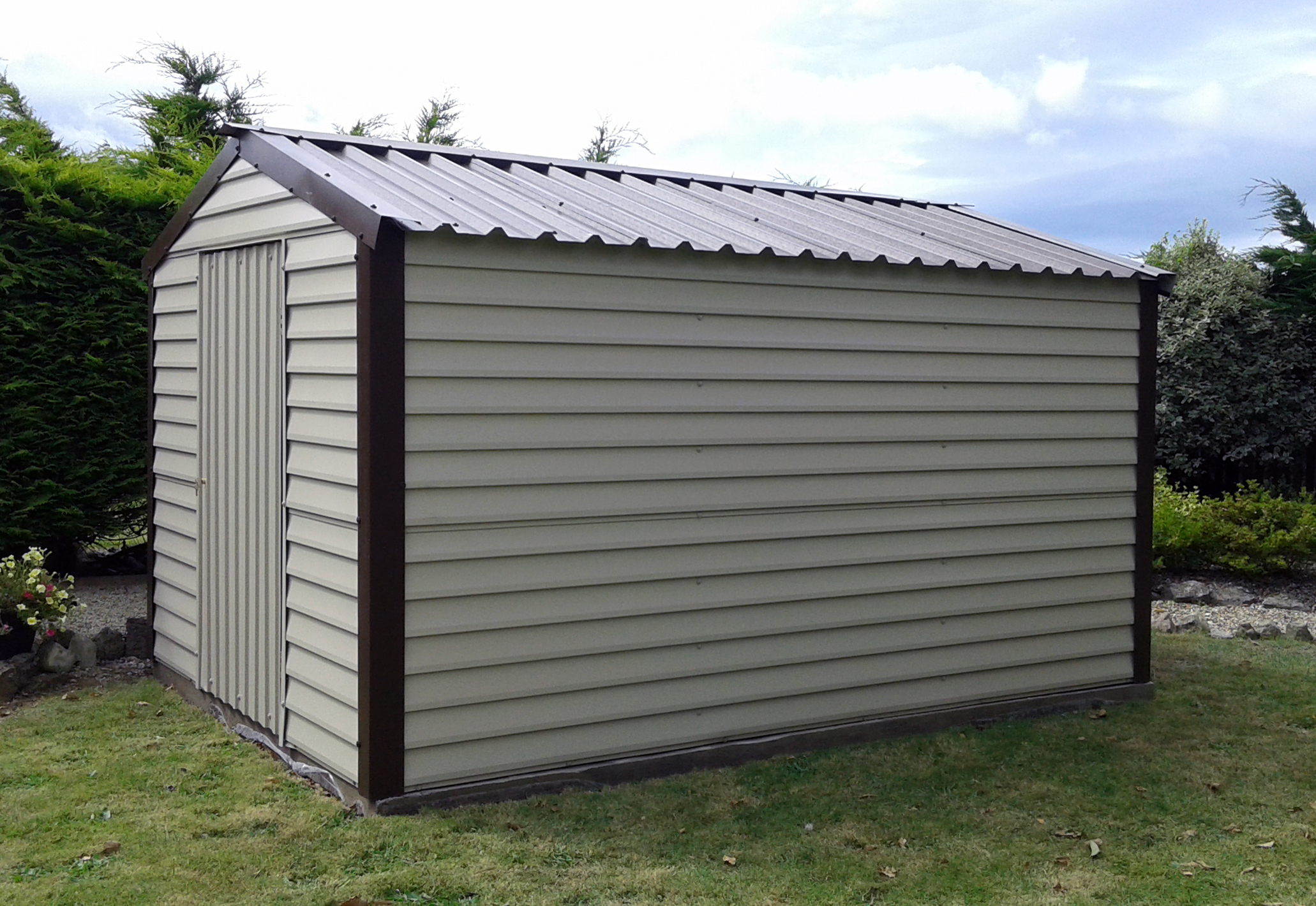steel the whites sheds garages organization shed metal arrow n outdoor depot home storage b