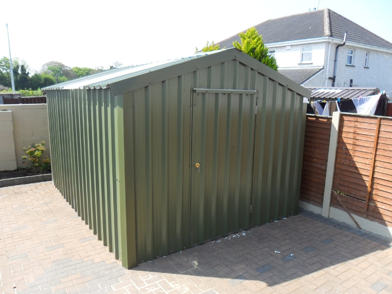 9in6 x 9in6 garden shed