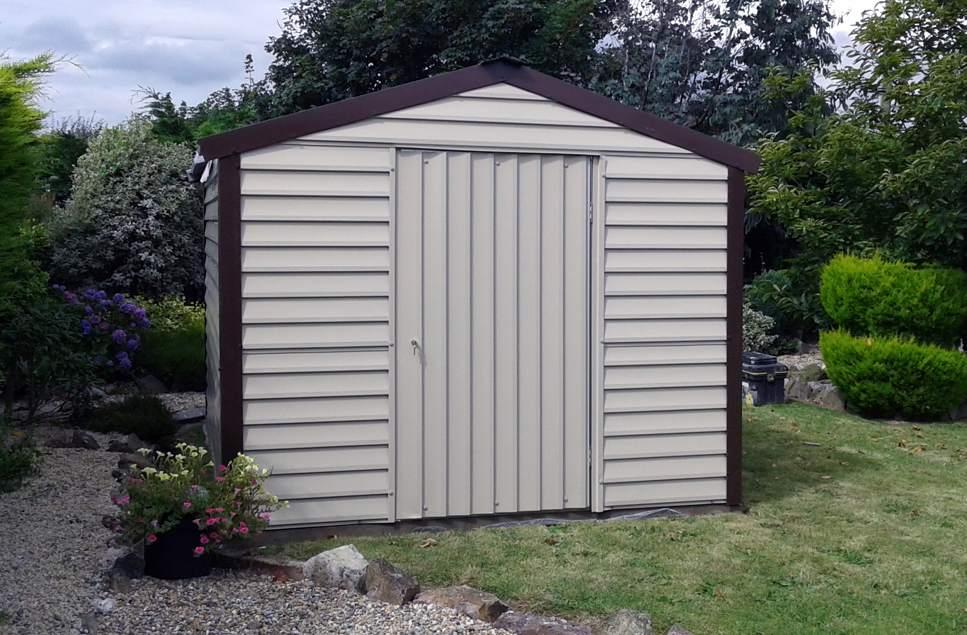 Steel sheds wicklow for Garden shed kilkenny