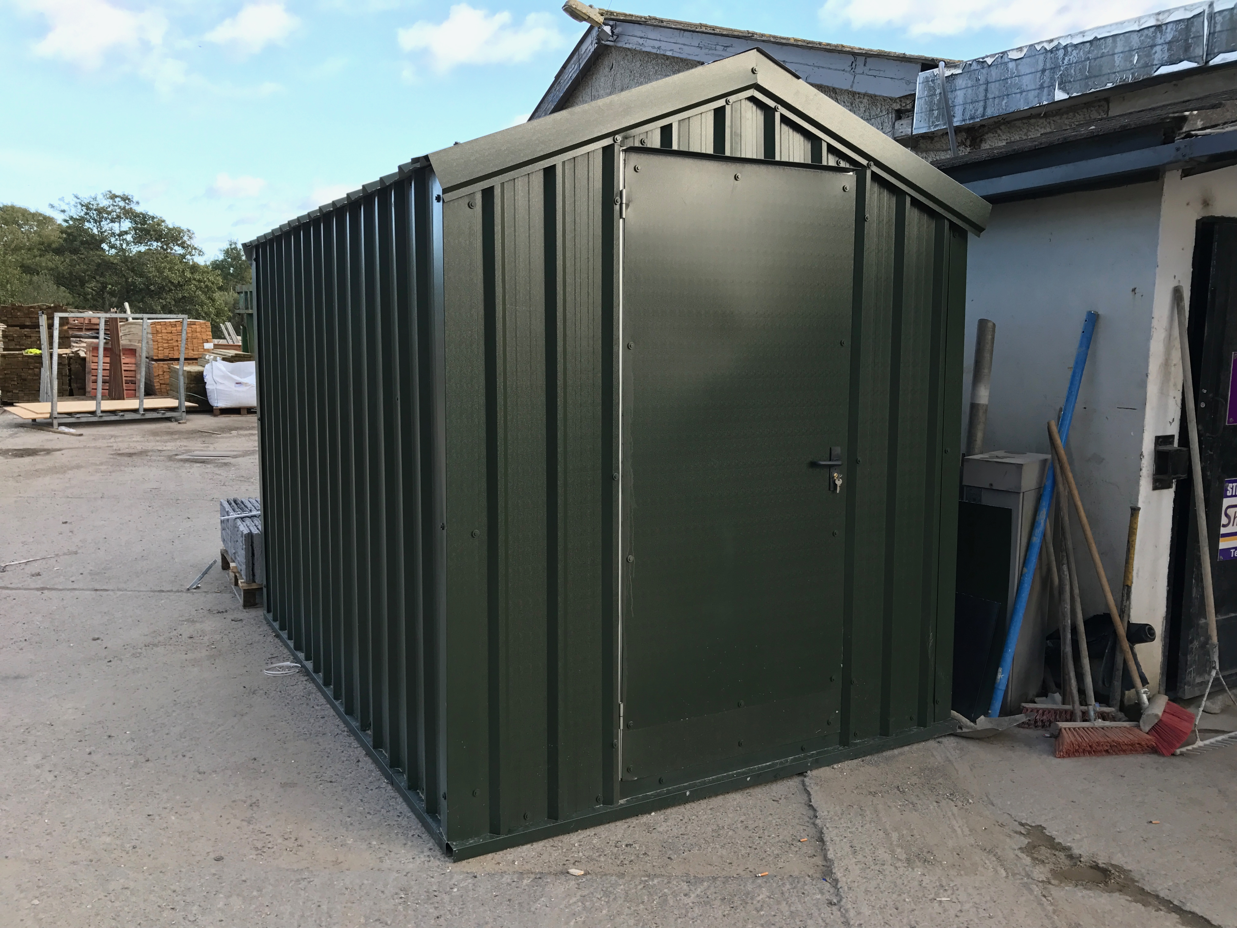 steel blog the tidyspan a difference alpine buildings of benefits sheds shed