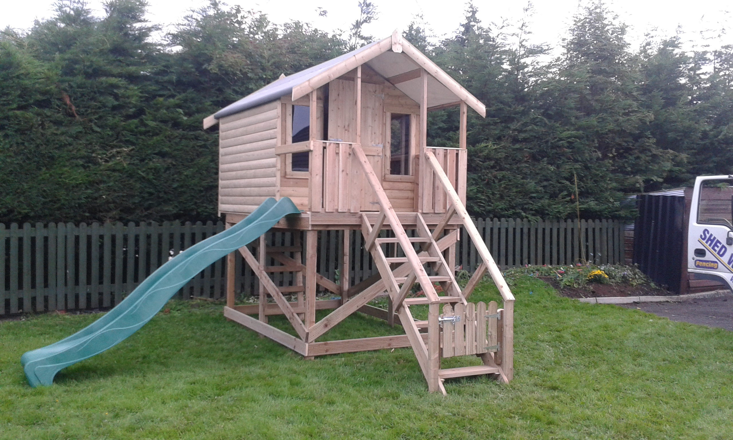 Treehouses Ireland Dublin Wicklow Wexford Sheds Fencing